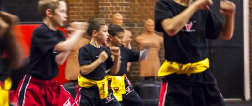 Phoenix School of Martial Arts students being put through their paces