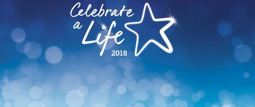 Celebrate a life banner