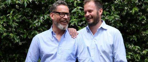 Jack Dyson and Daniel Marks founders of father and son day