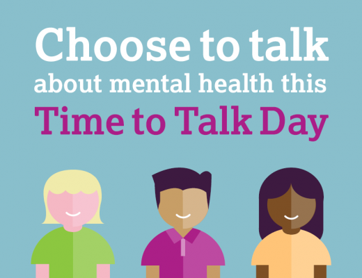 Choose to talk about mental health this time to talk day